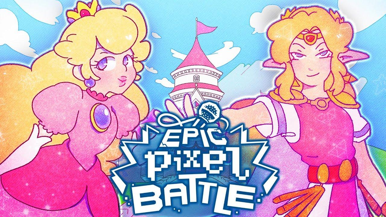 Peach Vs Zelda Epic Pixel Battle Epb Season 4