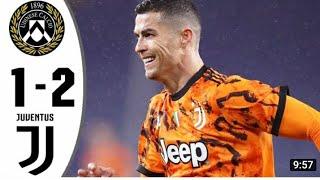 Udinese 1-2 Juventus | Ronaldo Scores Double in Comeback Win