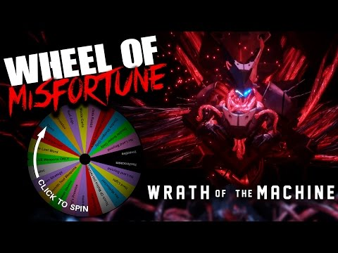EPIC WRATH OF THE WHEEL OF MISFORTUNE!!!! Wrath Of The Machine Raid With The WHEEL OF MISFORTUNE!!!!