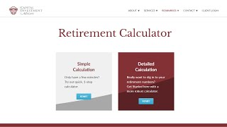 Retirement Calculator - Are You Saving Enough For Retirement?
