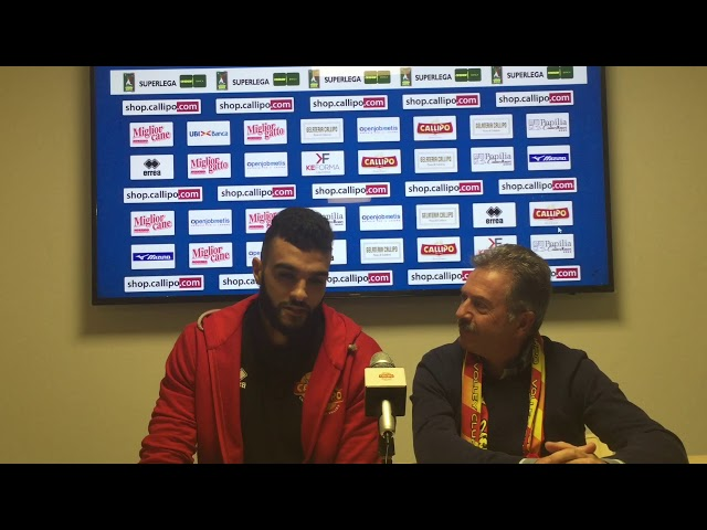 #SuperLega, Al Hachdadi in conferenza stampa verso Modena: