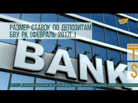 ставки депозитов в банке