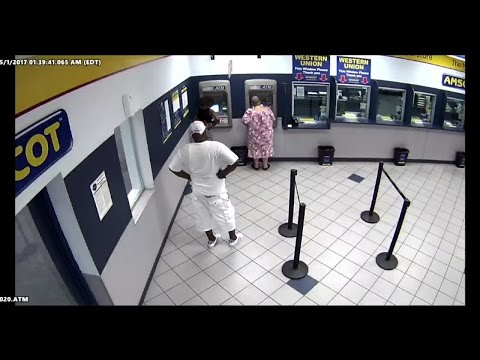 Man attacks woman at Tampa ATM, runs off with her money
