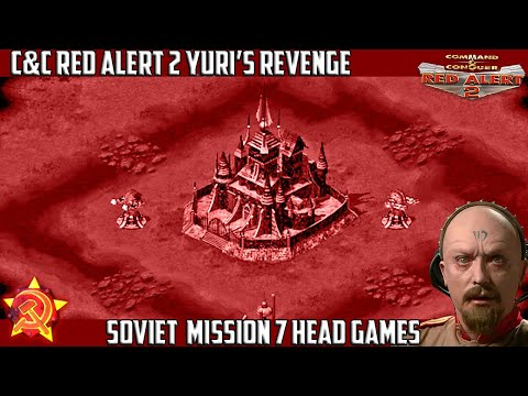 Yuri's Revenge - Soviet Mission 7 Head Games [720p]