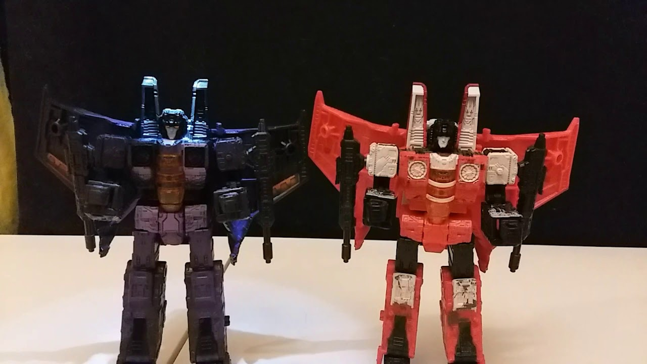 Swapping Hotlink & Redwing's Light Piping TRANSFORMERS SIEGE Seeker Customizing