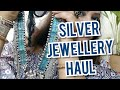 Online silver junk jewelry haul/online Indian ethnic silver jewellery shopping /style statement