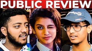 Oru Adaar Love Public Review   Priya Prakash Varrier   Noorin Sherif
