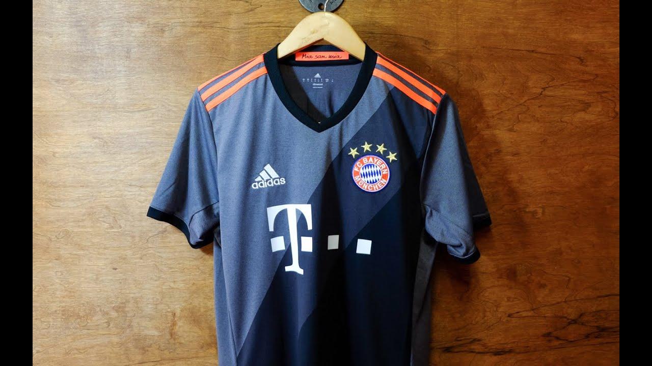 de9f3fb0b69 Review: Bayern Munich 2016/17 Away Jersey - YouTube