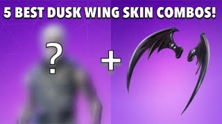 5 Best DUSK WING Skin Combos!! - Fortnite Battle Royale