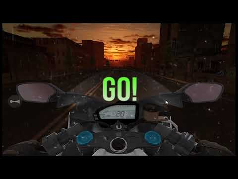 Turbo Moto Racer Game Pt. 1 |