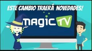 Baixar Mudança de apontamento Magic TV Chile - Do 61W para 74W