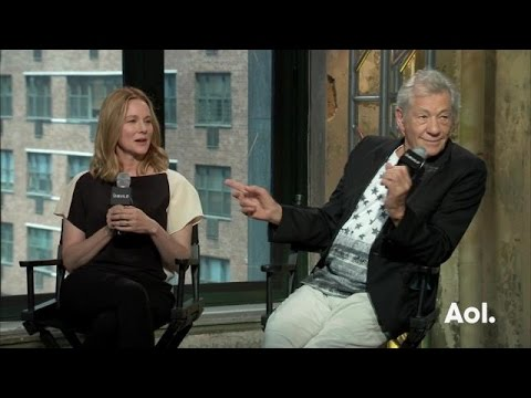 "Ian McKellen and Laura Linney on ""Mr. Holmes"""