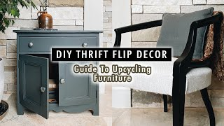 DIY THRIFT FLIP DECOR: Guide To Upcycling Furniture | XO, MaCenna