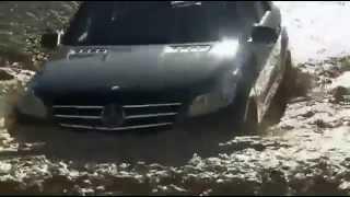 Экстримальный внедорожник- Mercedes 2012 ML 350 BlueTEC 4MATIC Trailer(Тест драйв ML по бездорожьи., 2013-04-16T21:25:59.000Z)