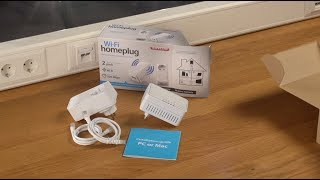 Unboxing e installazione di Sitecom LN-555 Wi-Fi Homeplug Dualpack - ITALIANO