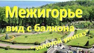 Межигорье - вид с балкона Януковича ★ золотой унитаз