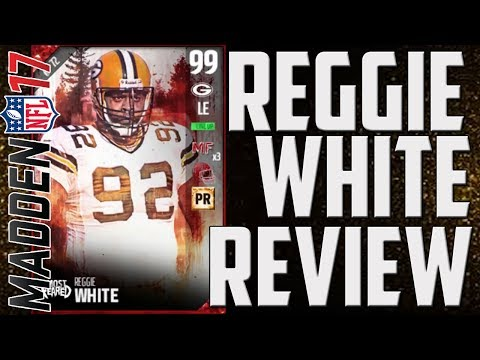 How Good is 99 OVR Most Feared Reggie White? MUT 17 Player Review