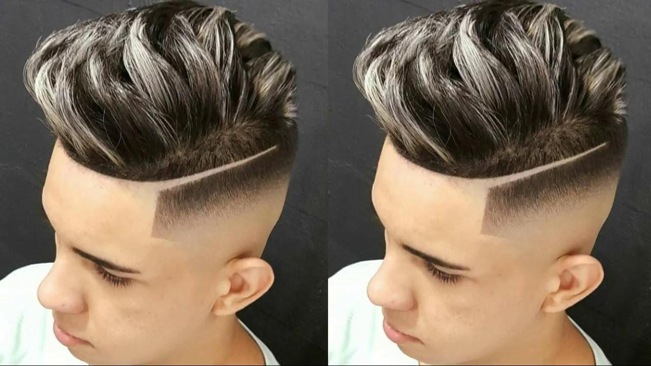 Los mejores cortes y peinados de cabello para hombres l neas dise os y mucho mas youtube - Peinados modernos de hombre ...