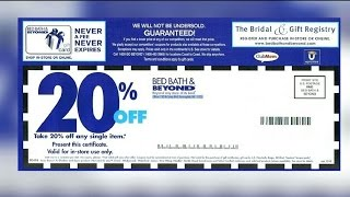 Bed Bath and Beyond dialing back coupons