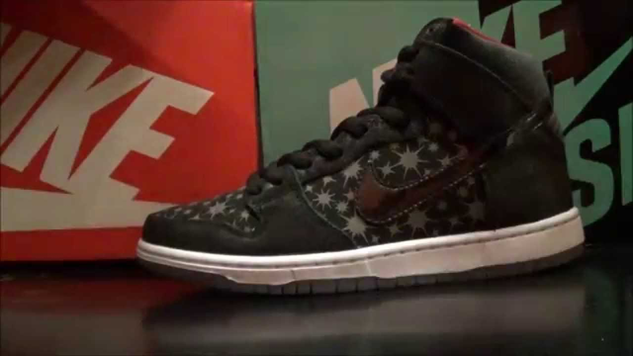 a26047f7e793 Brooklyn Projects X Nike SB Dunk High Paparazzi Sneaker With Dj Delz ...