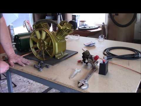 How to build an air compressor, DIY air compressor, part 1
