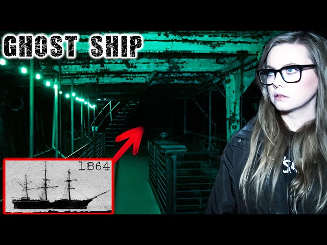 Haunted GHOST SHIP Investigation   Oldest Clipper Ship in the World