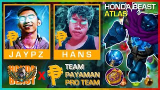 FIRST GAME FIRST LIVE WITH TEAM PAYAMAN PRO TEAM | ATLAS RANK GAME BY HONDA BEAST