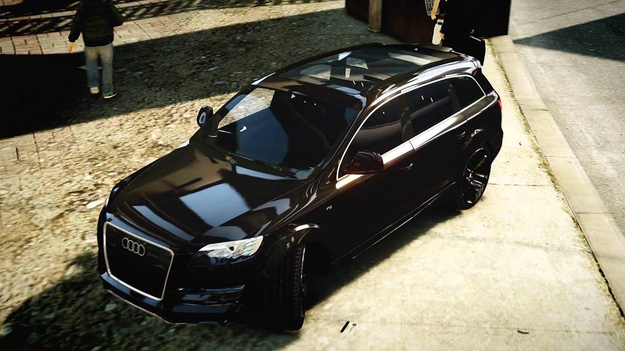 Grand Theft Auto IV - Audi Q7 LED - YouTube
