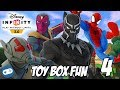 Avengers Infinity War Disney Infinity Toy Box Fun Gameplay Part 4