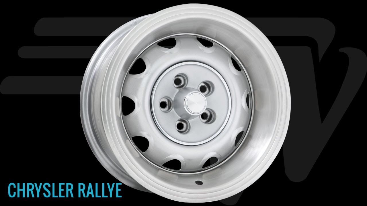 Wheel Vintiques Chrysler Rallye Wheel Youtube