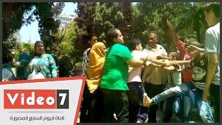 بالفيديو .. زوار حديقة الحيوان فى ثالث أيام العيد ..