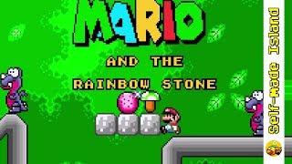 Mario and the Rainbow Stone • Super Mario World ROM Hack (SNES/Super Nintendo)