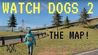 Download lagu HOW BIG IS THE MAP in Watch Dogs 2 Walk Across the Map MP3