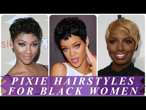 20 top beauty pixie hairstyles for black women 2018