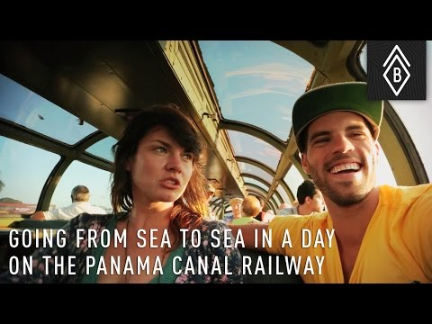 Going From Sea To Sea In A Day On The Panama Canal Railway