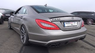 650HP Mercedes-Benz CLS63 AMG - REVS & GREAT ACCELERATIONS!