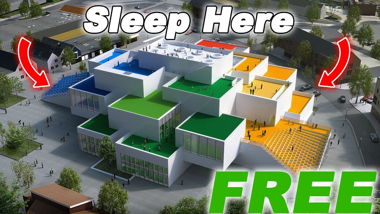 how to spend a night at the lego house for free november 2017 youtube. Black Bedroom Furniture Sets. Home Design Ideas