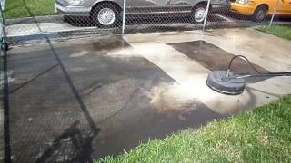 Small Driveway Pressure Cleaning Sped Up