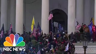 Rioters Storm Stairs Of Capitol As Congress Debates Electoral College Objections   NBC News