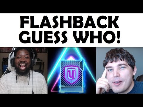 FLASHBACK GUESS WHO #2! DOES THE SHOT IN THE DARK LAND!?! Madden 19