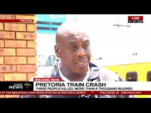Pretoria train crash| Three dead