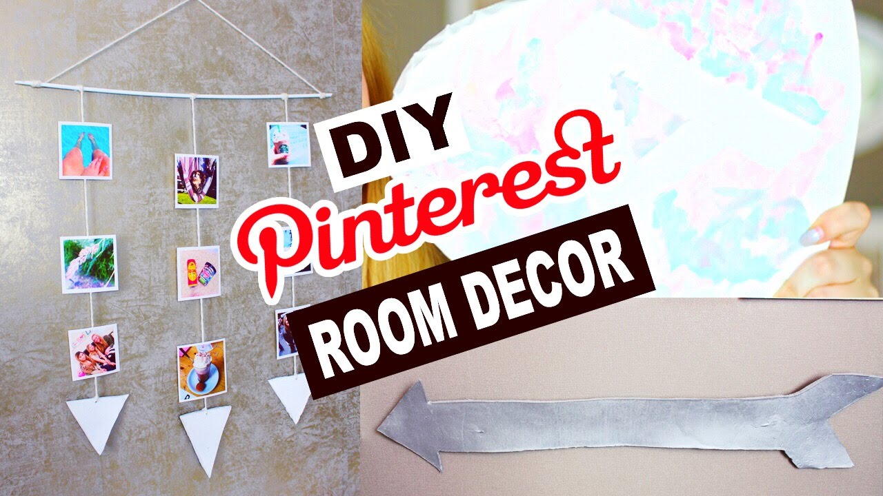 diy pinterest deko ideen deko selber machen zimmer dekorieren deutsch 2016 annaxo youtube. Black Bedroom Furniture Sets. Home Design Ideas