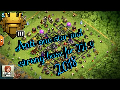strong-base-for-th-9-||-clash-of-clan-||-titan-league-||2018