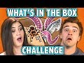 WHAT'S IN THE BOX CHALLENGE! (ft. React Cast) | Challenge Chalice