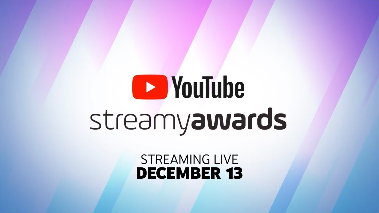 Tune In To the 2019 YouTube Streamy Awards | December 13 at 8pm ET