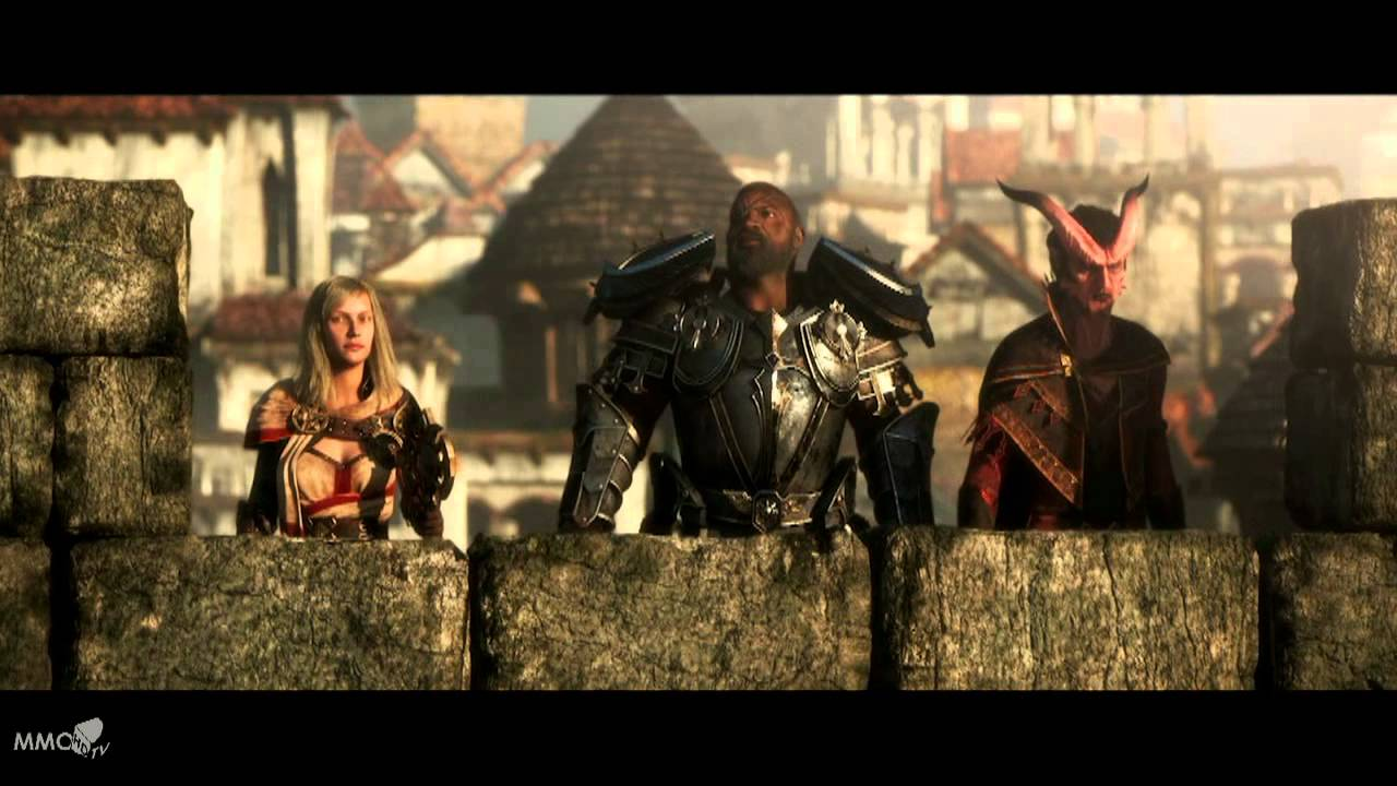 Neverwinter Full Cinematic The siege of neverwinter - MMO HD TV (720p)