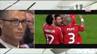 Cristiano Ronaldo'nun kendi maç görüntülerine tepk