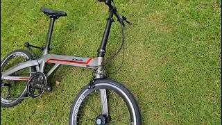 🔥 SAVA Z3  | Carbon Fiber Foldable Bike |  451 Wheelset | Hollowtech 🔥
