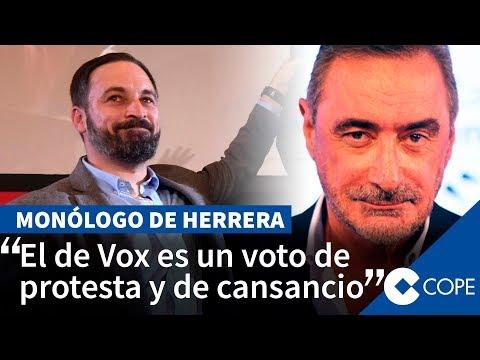 "Herrera: ""Llamarán extrema derecha a Vox, pero es transversal"""