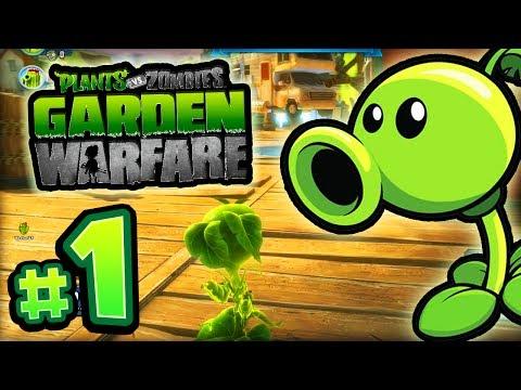 """Plants vs Zombies: GARDEN WARFARE! - #1 LIVE w/ Ali-A! - """"CRAZY ZOMBIES!"""" (Xbox One)"""